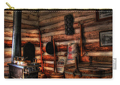 Old Log Cabin Carry-all Pouch