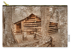 Old Mill Work Cabin Carry-all Pouch by Dan Stone