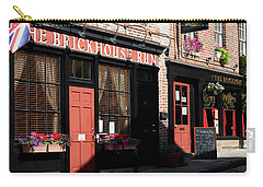 Old Towne Dining Carry-all Pouch by Karen Harrison