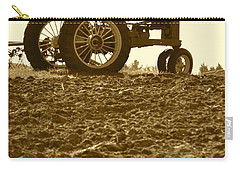 Old Tractor I In Sepia Carry-all Pouch