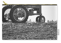 Old Tractor II In Black-and-white Carry-all Pouch
