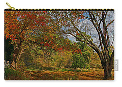 Old Tree And Foliage Carry-all Pouch