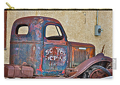 Carry-all Pouch featuring the photograph Old Truck by Johanna Bruwer