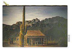 Old Tucson Home Carry-all Pouch by Frank Hunter
