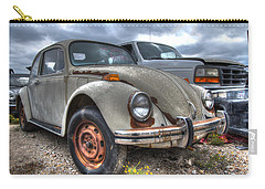 Old Vw Beetle Carry-all Pouch