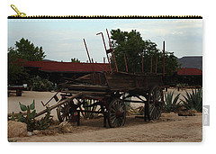 Old Wagon Carry-all Pouch by Karen Harrison