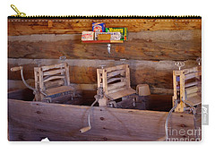 Carry-all Pouch featuring the photograph Old West 2 by Deniece Platt
