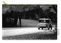 Carry-all Pouch featuring the photograph On The Road Again by Kay Novy