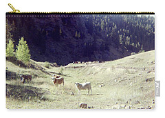 Carry-all Pouch featuring the photograph Open Range by Bonfire Photography