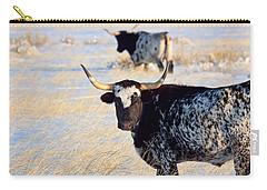 Carry-all Pouch featuring the photograph Open Range by Jim Garrison