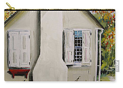Carry-all Pouch featuring the painting Open Shutter by John Williams