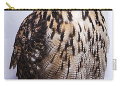Orange Owl Eyes Carry-all Pouch
