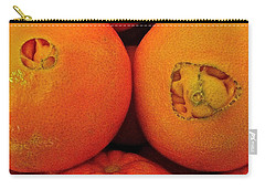 Carry-all Pouch featuring the photograph Oranges by Bill Owen