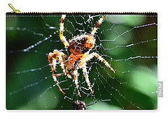 Orb Weaver And Lunch Carry-all Pouch