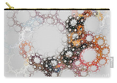 Carry-all Pouch featuring the digital art Orbital by Kim Sy Ok