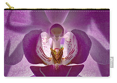 Orchid   Carry-all Pouch by Sue Stefanowicz