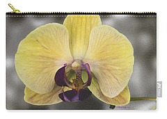Orchid Study IIi Carry-all Pouch by Patricia Griffin Brett