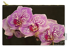Carry-all Pouch featuring the photograph Orchids by Eunice Gibb