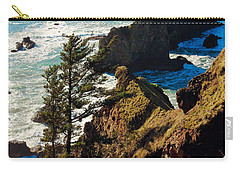 Oregon Coast Carry-all Pouch by Athena Mckinzie