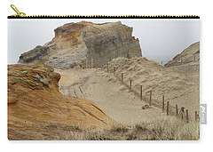 Oregon Sand Dunes Carry-all Pouch by Athena Mckinzie
