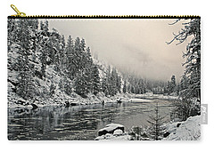 Orofino Snow Clearwater River Carry-all Pouch