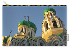 Orthodox Church Of Sts Michael And Constantine- Vilnius Lithuania Carry-all Pouch