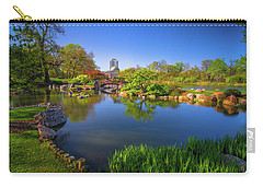 Osaka Garden Pond Carry-all Pouch by Jonah  Anderson