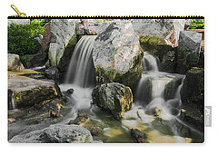 Osaka Garden Waterfall Carry-all Pouch by Jonah  Anderson