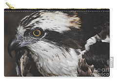 Carry-all Pouch featuring the photograph Osprey by Lydia Holly