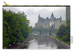 Ottawa Rideau Canal Carry-all Pouch