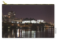 Carry-all Pouch featuring the photograph Ottawa Skyline by Eunice Gibb