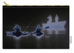 Carry-all Pouch featuring the photograph Out Of The Darkness by Myrna Bradshaw