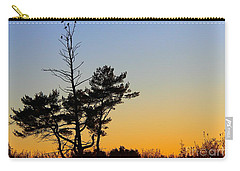 Carry-all Pouch featuring the photograph Out On A Limb by Davandra Cribbie