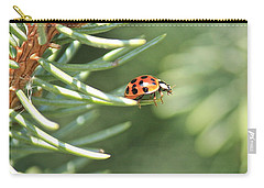 Carry-all Pouch featuring the photograph Out On A Limb by Penny Meyers
