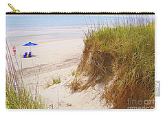Carry-all Pouch featuring the photograph Outerbanks by Lydia Holly