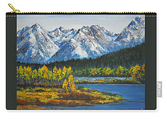 Oxbow-grand Tetons  Carry-all Pouch