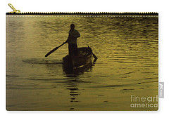Carry-all Pouch featuring the photograph Paddle Boy by Lydia Holly