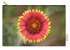 Painted Blanket Flower Carry-all Pouch