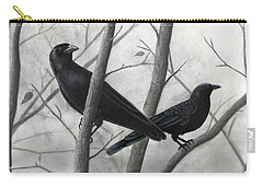 Pair Of Crows Carry-all Pouch