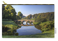 Palladian Bridge At Stourhead. Carry-all Pouch