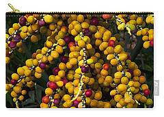 Carry-all Pouch featuring the photograph Palm Seeds Baroque by Steven Sparks