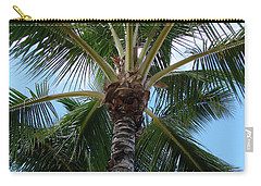 Palm Tree Umbrella Carry-all Pouch by Athena Mckinzie