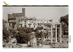 Panoramic View Via Sacra Rome Carry-all Pouch