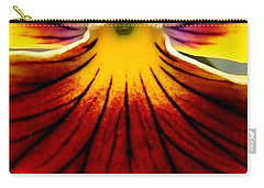 Pansy Named Imperial Gold Princess Carry-all Pouch by J McCombie