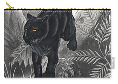 Panther By The Water Carry-all Pouch