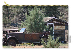 Parked At The Trading Post Carry-all Pouch by Athena Mckinzie