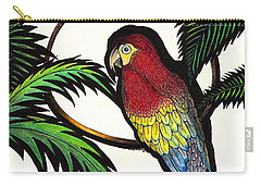 Parrot Shadows Carry-all Pouch