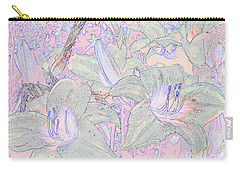 Pastel Lillies Carry-all Pouch