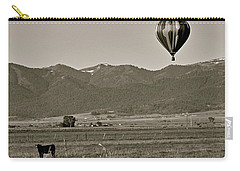 Carry-all Pouch featuring the photograph Pastoral Surprise by Eric Tressler