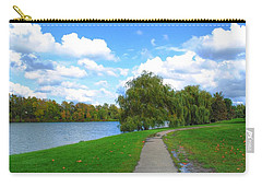Carry-all Pouch featuring the photograph Path by Michael Frank Jr